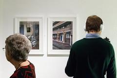 Listening (jonnydredge) Tags: london nikon exhibitions va textiles pv morley privateview inspiredby arttextiles morleygallery moderneccentrics