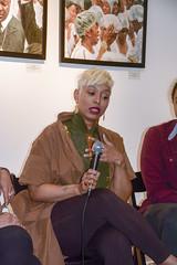 Elan HiArt Ferguson: HAF Artist Talk: Who's Harlem? / Whose Harlem? (j-No) Tags: urban usa art la artist gallery harlem political talk social elan gentrification whose maison dart ferguson responsible whos haf hiart