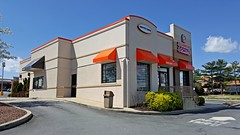 Dunkin Donuts in Rockville, Maryland (SchuminWeb) Tags: road county food building chicken beer buildings restaurant march foods store md all yum conversion ben kentucky web fastfood restaurants fast maryland american donuts kfc converted service montgomery former root stores fried quick aw kentuckyfriedchicken dunkin rockville brands frederick repurposed 2016 derwood frederickroad schumin schuminweb
