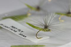 Olive tube body mayfly (Masi Hast) Tags: flyfishing flytying dryfly