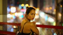 Back-lit Silhouette - Bokehlicious (Joachim Wuhrer) Tags: nightphotography hongkong asia bokeh speedmaster northpoint f095 a7ii mitakon sonya7ii joachimwuhrer