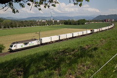 Railcare Re 465 015 Cat's Eye im Gürbetal (eisenbahnfans.ch) Tags: suisse bern bls axis catseye wbb güterzug wabern re465 köniz 54688 gürbetal wabernbeibern 465015 railcare cargoexpress kehrsatznord umleitungszug