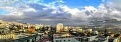 PANO_20151017_165553 (Yassine Abbadi) Tags: road sky panorama cloud sun grass car sunrise buildings river rainbow mosque ufo morocco maroc medina reflexion favela hdr kasbah tetuan tetouan