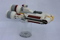 Republic Deep-Space Frigate (FxanderW) Tags: starwars lego custom frigate clonewars moc peltaclassfrigate css1corellianstarshuttle
