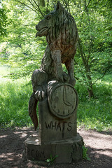 DSC_6765 (aglet) Tags: sculpture wolf arboretum westonbirt 24120mmf4 nikond750