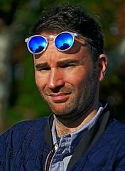Sun Glasses (sinbadcc1) Tags: street nyc portrait newyork man sunglasses streetphoto