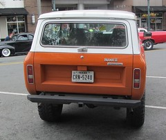 I-H Scout II (Hugo-90) Tags: show cruise truck washington 4x4 scout international suv colby harvester everett ih