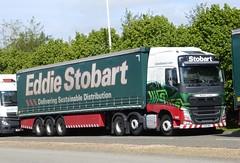 H4122 - KX15 NUC (Cammies Transport Photography) Tags: truck drive volvo lorry louise eddie sandpiper natasha fh nuc dunfermline esl stobart eddiestobart kx15 h4122 kx15nuc