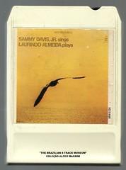 "1966 - Sammy Davis Jr sings & Laurindo de Almeida plays - 8 track - fita cartucho de 8 pistas (""The Brazilian 8 Track Museum"") Tags: vintage collection tape cartridge toca fitas cartucho alceu massini"