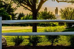 Fence at sunset (gdajewski) Tags: sunset ny albany tokina100mmf28atxm100afprodmacro nikond7000 dajewski gdajewski
