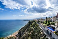 Taormina Bay, Sicily (ThomasBartelds) Tags: travel italy sicily