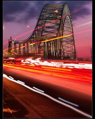 Morse code.......... (Digital Diary........) Tags: longexposure canon le runcorn merseyside widnes traffictrails runcornbridge
