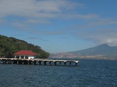 Harbor (Leyram Odacrem) Tags: ocean travel bridge mountain photography harbor outdoor waters province