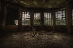 epidemic  : (andre govia.) Tags: new york usa abandoned wheel chair state andre childrens sanatorium asylum tb tuberculosis govia