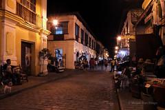 Calle Crisologo (Meljoe San Diego) Tags: travel night calle fuji philippines x10 ilocossur crisologo vigancity meljoesandiego