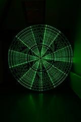 Green radial DLW (- Hob -) Tags: longexposure lightpainting green kitchen led photograph nophotoshop arduino singleexposure sooc digitallightwand 何後処理ん 无后处理