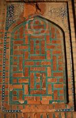 Patterned panel, Makli, Sindh, Pakistan (Ameer Hamza) Tags: pakistan history shrine arch panel muslim tomb unesco worldheritagesite outer sindh islamicarchitecture mazar ppa historicalarchitecture