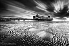 Ripples & Pools (images through a lens) Tags: uk longexposure sea pier europe unitedkingdom britain somerset coastal westonsupermare westonsmare