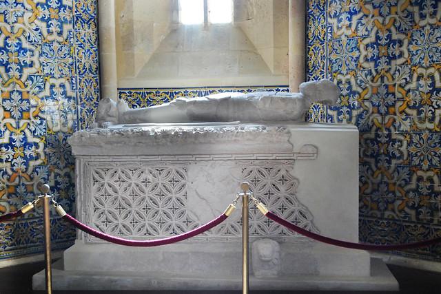 Sepulcro medieval del caballero Rui Valente en Faro