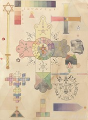 16+Symbols+and+Tools+68x50cm+watercolour+on+paper