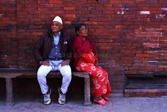 Couple (azri zainul) Tags: nepal slr film analog 35mm canon kodak kathmandu 135 himalaya patan oldcity historiccity backstreets nepali durbarsquare filmphotography fixedlens primelens canonftbql patandurbarsquare kodakektar100