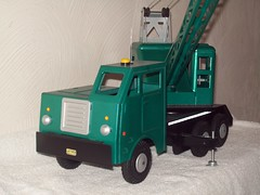 102_0725 (jatheb) Tags: mobile construction model crane mining equipment marx collectible tonka contractors drillrig waterwell blasthole buddyl lumar pressedsteeltruck