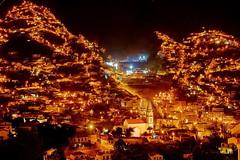 City limits (werner boehm *) Tags: portugal church stars lights nightshot kirche panasonic madeira funchal lichter longtimeexposure wernerboehm panasonicg2