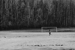 Goal boy (Paperfist) Tags: trees field football goal soccer olympus f18 45mm ep3