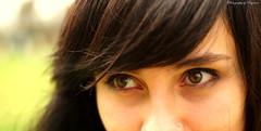 Hide & Seek (Payerson) Tags: blue color cute girl look cat persona amazing mujer eyes retrato awesome ojos hazel felicidad mirada hermosa verdes belleza pensamiento claros