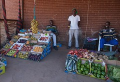 mamelodi fruits and vegtables (jimbob_pgh) Tags: fruit southafrica vegtables peppers pretoria bannanas township mamelodi