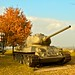 T34 in autumn