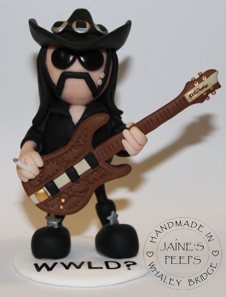 Lemmy With A Birthday Cake