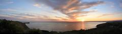 Mounts Bay Sunset (kappacygni) Tags: sunset sea bay cornwall penzance mountsbay magicalskies polurriancliffs
