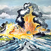 NOT MY PAINTINGS: BIKINI ATOLL PAINTINGS BY NAVY PERSONNEL