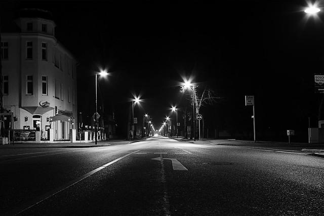 Straße nach Zeuthen