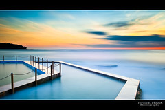 Curl Curl (Bruce_Hood) Tags: ocean longexposure seascape water pool sunrise australia nsw northernbeaches curlcurl