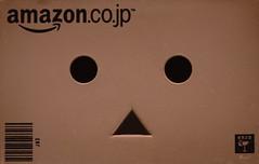 Portrait of a little cardboard robot (.OhSoBoHo) Tags: macro cute canon toy japanese manga kawaii yotsuba danbo amazoncojp revoltech macromondays canoneos40d danbolove danbophotography danboface danboportrait upclosewithdanbo