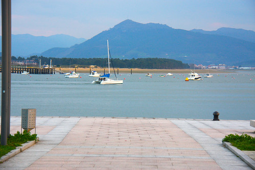 Sailboat in Santoña