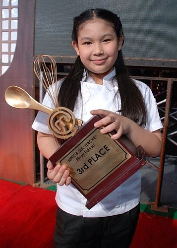 Junior MasterChef Pinoy Edition third placer Mika