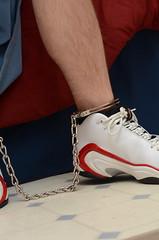 DSC_9245 (jakewolf21) Tags: basketball air bondage sneakers nike chain pippen legirons