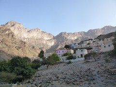 On the road to Qiyut: Halhal village (John Steedman) Tags: oman  sultanateofoman