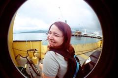 366 project. (046/366) (Julie Garcia Hernandez) Tags: beach lomography fisheye summertime ilhabela 366project