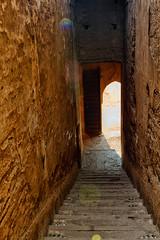 La Escalera (minuano12) Tags: arquitectura monumento viajes marrakech medina marruecos vacaciones escaleras frica 0051 detallearquitectnico palaciobadi