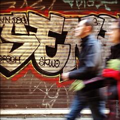 Graffiti (jfraile (OFF/ON slowly)) Tags: barcelona street urban art graffiti calle movement paint arte painted movimiento spray urbano pintadas platera zeleste argenteria barriodelaribera rememberthatmomentlevel4 rememberthatmomentlevel1 rememberthatmomentlevel2 rememberthatmomentlevel3
