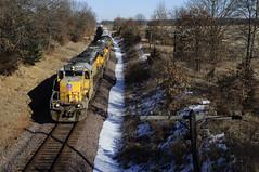UP 3305 LPA53-25 Packwaukee, WI (Philip_Martin) Tags: wisconsin adams pacific sub union line wi subdivision 3305 sd402 lpa53