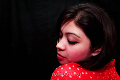 Portrait of Strawberry Girl (Shabbir Ferdous) Tags: light red portrait woman color colour girl female strawberry photographer shot peaceful shabbirferdous canoneos1dmarkiv ef1635mm28liiusm wwwshabbirferdouscom shabbirferdouscom