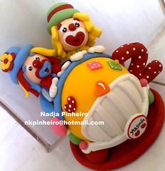 O carro de Patati e Patat (Nadja Pinheiro - Biscuit) Tags: circo biscuit infantil carro colorido topodebolo patatipatat aniverio