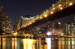 Queensboro Bridge at Night (dkshots) Tags: nyc newyorkcity bridge ny newyork river ed island manhattan roosevelt longisland east route queens boroughs 25 eastriver borough tramway queensborobridge rooseveltisland longislandcity blackwell welfare queensboro koch 1909 59th cantilever 59thstreet blackwellsisland blackwells edkoch stateroute25 welfareisland ny25