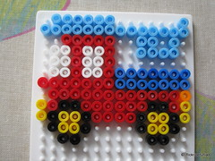 Auto (petuniad) Tags: beads hama perler prlplattor hamabeads perlerbeads strijkkralen bgelperlen buegelperlen