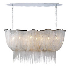 "4496 LG DRAPED CHAIN CHANDELIER • <a style=""font-size:0.8em;"" href=""http://www.flickr.com/photos/43749930@N04/6953257063/"" target=""_blank"">View on Flickr</a>"